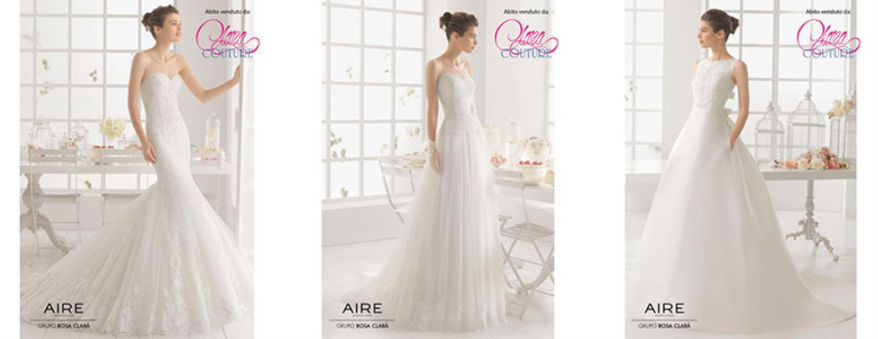 Abiti da sposa Aire Barcelona a Milano  alta qualità a prezzi convenienti cef1e148ac4