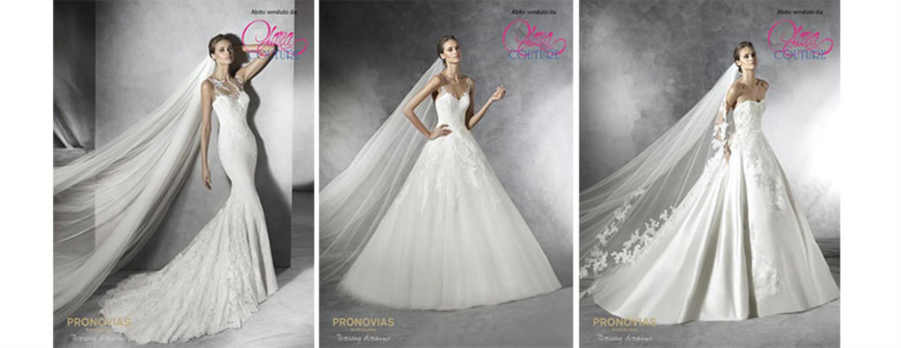 e3ee57b6e555 Abiti da sposa Pronovias a Milano  scopri la nuova collezione